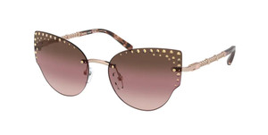 MICHAEL KORS MK1058B 1108O0 Rose Gold Cat Eye Women's 57 mm Sunglasses