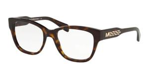 MICHAEL KORS MK4059 3006 Dark Tortoise Square Women's 52 mm Eyeglasses
