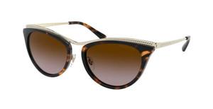 MICHAEL KORS MK1065 101413 Dark Tortoise Cat Eye Women's 54 mm Sunglasses