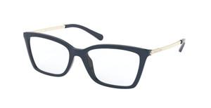 MICHAEL KORS MK4069U 3725 Blue Square Women's 52 mm Eyeglasses