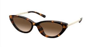 MICHAEL KORS MK2109U 333313 Dark Tortoise Cat Eye Women's 57 mm Sunglasses