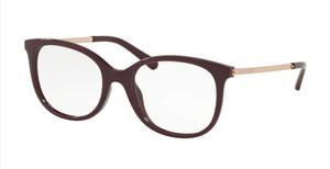 MICHAEL KORS MK4061U 3344 Bordeaux Square Women's 53 mm Eyeglasses
