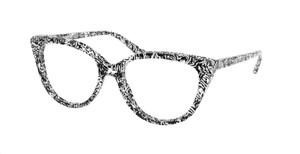 MICHAEL KORS MK4070 3499 Zebra Cat Eye Women's 52 mm Eyeglasses