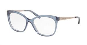 MICHAEL KORS MK4057 3221 Blue Transparent Square 51 mm Eyeglasses