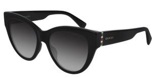 GUCCI GG0460S 001 Black Cat Eye Women's 53 mm Sunglasses
