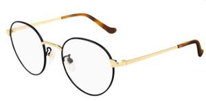 GUCCI GG0581O 002 Black Round Unisex Unisex 47 mm Eyeglasses