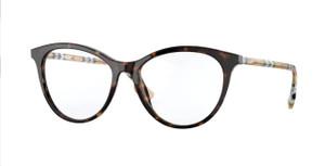 BURBERRY BE2325 3903 Dark Havana Cat Eye Women's 51 mm Eyeglasses