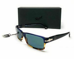 PERSOL PO2747S 955/4N Grey Polarized Men's Sunglasses 57 mm