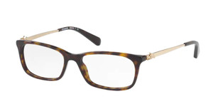 COACH HC6110 5485 Dark Tortoise Rectangle Women's 50 mm Eyeglasses