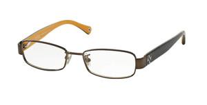 COACH HC5001 9023 Dark Brown Rectangle Women's 52 mm Eyeglasses