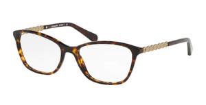 COACH HC6121 5485 Dark Tortoise Rectangle Women's 55 mm Eyeglasses