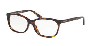 COACH HC6139U 5120 Dark Tortoise Rectangle Women's 53 mm Eyeglasses