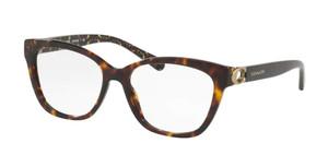 COACH HC6120 5507 Dark Tortoise Square Women's 54 mm Eyeglasses