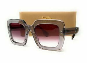 BURBERRY BE4284F 30288H Transparent Grey Cl Grad Drk Viol Women Sunglasses 52 mm