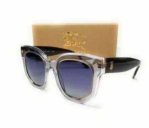 Burberry BE4307F 38314L Top Grey Transparent Women Sunglasses 50mm