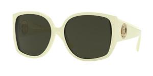 BURBERRY BE4290F 381582 Light Green Square Women's 61 mm Sunglasses