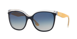 BURBERRY BE4270F 37324L Top Blue Square Women's 55 mm Sunglasses