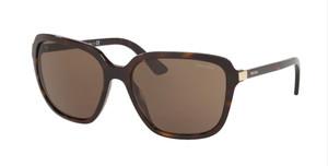 PRADA SPR 10V 2AU-8C1 Havana Square Women's 58 mm Sunglasses