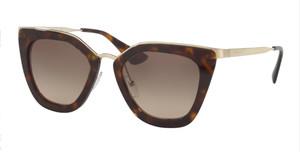 PRADA SPR 53S 2AU-3D0 Havana Cat Eye Women's 52 mm Sunglasses