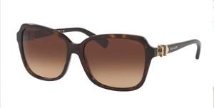COACH L1598 HC8179 512013 Dark Tortoise Square Women's 58 mm Sunglasses