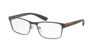 PRADA VPS 50G U6U-1O1 Grey Gradient Square Rectangle Men's 55 mm Eyeglasses