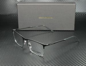 DOLCE & GABBANA DG1309 1277 Matte Black Rectangle Men's 57 mm Eyeglasses