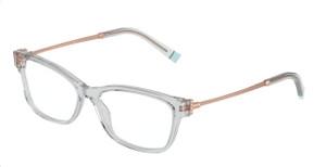TIFFANY TF2204 8329 Light Grey Rectangle Square Women's 54 mm Eyeglasses