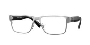 VERSACE VE1274 1001 Gunmetal Rectangle Men's 55 mm Eyeglasses