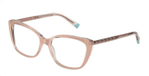 TIFFANY TF2208B 8334 Milky Pink Cat Eye Women's 54 mm Eyeglasses