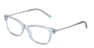 TIFFANY TF2204 8333 Light Blue Square Rectangle Women's 52 mm Eyeglasses