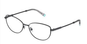 TIFFANY TF1139 6159 Dark Blue Oval Women's 53 mm Eyeglasses