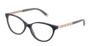 TIFFANY TF2212 8283 Opal Blue Cat Eye Women's 52 mm Eyeglasses