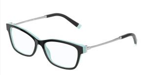 TIFFANY TF2204 8055 Black Rectangle Square Women's 52 mm Eyeglasses