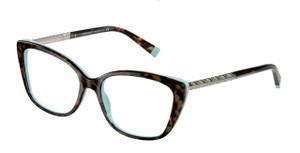 TIFFANY TF2208B 8134 Havana Cat Eye Women's 52 mm Eyeglasses