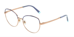 TIFFANY TF1138 6152 Blue & Rubedo Round Women's 51 mm Eyeglasses