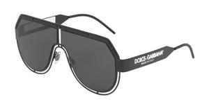 DOLCE & GABBANA DG2231 327687 Matte Black Aviator Men's 59 mm Sunglasses