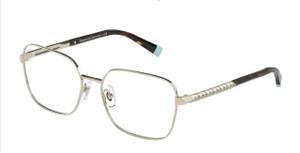 TIFFANY TF1140B 6021 Pale Gold Square Rectangle Women's 53 mm Eyeglasses