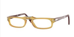 PERSOL PO2886V 1132 Honey Rectangle Men's Folding 51 mm Eyeglasses