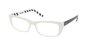 PRADA VPR 10X 7S3-1O1 Ivory Rectangle Women's 52 mm Eyeglasses