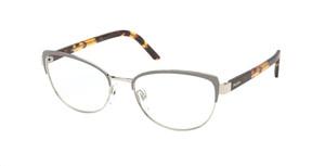 PRADA VPR 63X 06B-1O1 Grey Cat Eye Women's 53 mm Eyeglasses