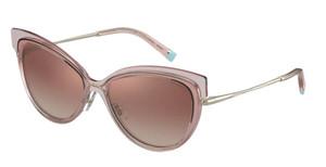 TIFFANY TF3076 83263N Warm Pink Cat Eye Women's 57 mm Sunglasses