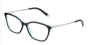 TIFFANY TF2205 8055 Black Square Women's 53 mm Eyeglasses