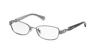 COACH HC5054 9186 Dark Silver Rectangle Women's 49 mm Eyeglasses