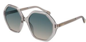 CHLOE CC0004S 001 Nude Square Kid's 51 mm Sunglasses