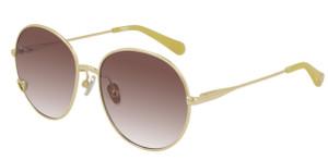 CHLOE CC0006S 001 Gold Round Kid's 52 mm Sunglasses