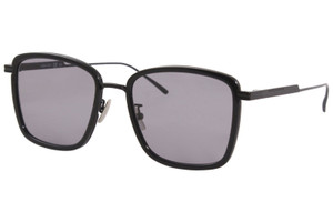 BOTTEGA VENETA BV1008SK 002 Black Square Rectangle Women's 55 mm Sunglasses