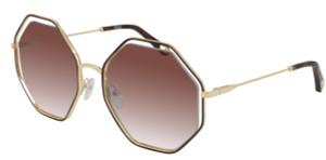 CHLOE CH0046S 004 Havana Square Women's 53 mm Sunglasses