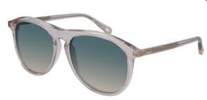 CHLOE CH0009S 004 Pink Oval Women's 56 mm Sunglasses