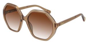 CHLOE CC0004S 002 Orange Square Kid's 51 mm Sunglasses