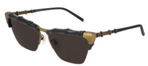 GUCCI GG0660S 001 Black Cat Eye 58 mm Women's Sunglasses